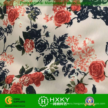 Набивные ткани ткани для женщин Lady длинные платья