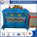 Baja Beton Lantai Decker Roll Forming Machine