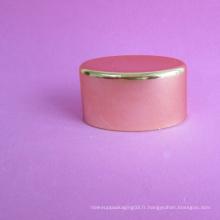Capuchon à vis ovale plaqué 50 mm sans tube