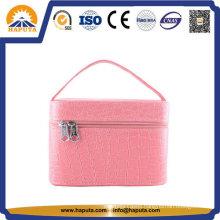 Unique Professional Ladies Leather Cosmetic Box (HB-6611)