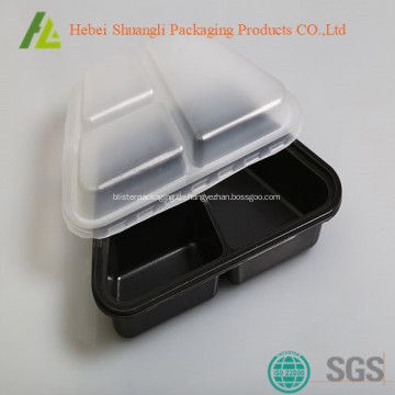 Lebensmittelbehälter mit 3 Abteilen