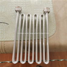 Aluminium serpentine tube with inlet and outlet