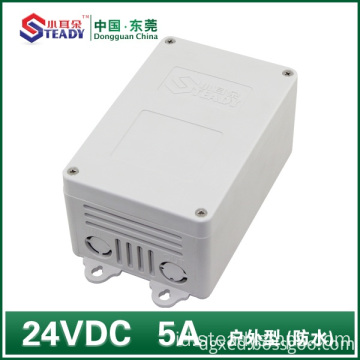 Power supply luar 24VDC 5A Tahan Air
