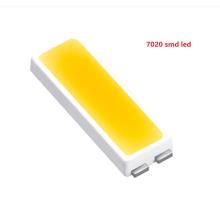 Los nuevos productos 0.2w 0.3w 0.5w 0.75w smd 7020 llevaron el color blanco del microprocesador para la luz de fondo