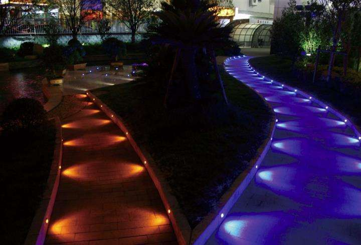 led outdoor step light