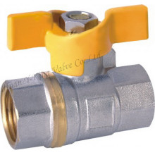 Brass Oil Control Ball Valve with Factory Price (YD-1024)