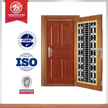 32 in. x 80 in. Premium Full Lite Primed Steel Prehung Front Door with No Brickmold