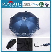 Promotional Wooden Handle Straight Umbrella