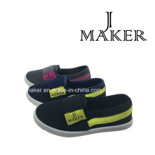 2016 Best Sale Kids Injection Shoe with PVC Outsole (JM2003-S&B)