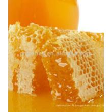 Miel de tilleul au miel de moelleux de haute qualité