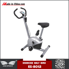 Fashion Design CE Approved Upright Belt Bike for Home Use