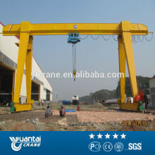 Overseas installation available single girder gantry crane 5t