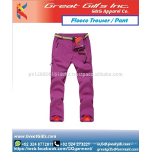 Fashion fleece pant for men and women for training gym and street wear trousers