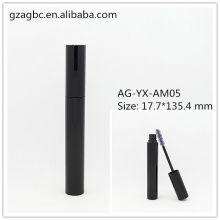 Elegante & vazio alumínio redondo tubo de rímel AG-YX-AM05, embalagens de cosméticos do AGPM, cores/logotipo personalizado