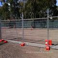 painel provisório revestido pvc da cerca