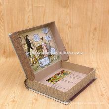 Caja de regalo de papel de libro de embalaje de cómic