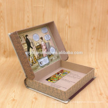Упаковывать книги комиксов форменный бумажная коробка подарка