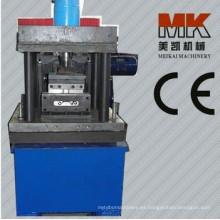 Aprobó CE y IOS Good Quaklity Roll Forming Machine para fabricación de listones de puerta de obturador