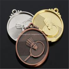 3D medal for badminton winner
