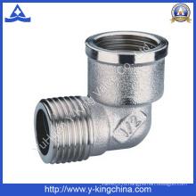 Никелированный латунный фитинг для труб с наружной резьбой (YD-6028)