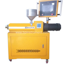 PLC control plastic single screw extruder