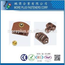 Taïwan en acier inoxydable 18-8 cuivré en laiton table réglable tablette de table matériel de table extensible