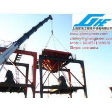 ship unloader Port bulk cargo hopper