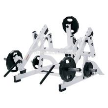 Hocken Sie hohe Zughammerstärkefitnessausrüstung / Handelsmachturnhallenausrüstung