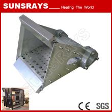 Queimador do canal do queimador de LPG para o aquecimento de ar da circulaço da canaleta