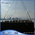 Steel boat pontoon for dredging and marine construction