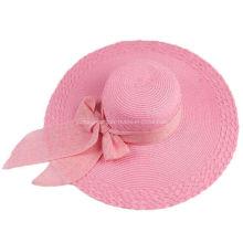 La señora Straw Hat de la manera, verano se divierte la gorra de béisbol