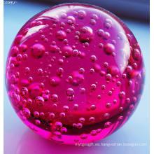 Embalaje independiente Color de la pintura Bolas de burbujas de cristal