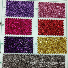 PU leather cellphone purse case back cover glitter leather