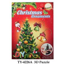 Brinquedo engraçado do enigma de Natal 3D