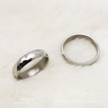 Mode 316L Edelstahl Hochzeit Bands Paar Ring