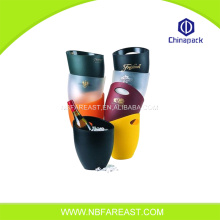 Promotional wholesale printing colorful ice bucket