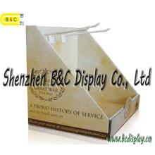 Le fournisseur d'or a fait sur commande le présentoir ondulé PDQ Boxwith avec SGS (B & C-D061)