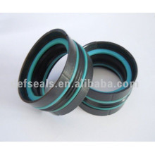 Compact Piston Seals Das for Agricultural Machinery
