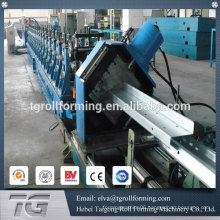 Certificated supplier z purlin roll forming machine