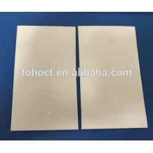 Telha cerâmica lisa ultrafina cerâmica da placa da zircônia da espessura de 0.3 --- 1.5mm
