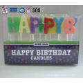 A melhor venda vendendo a vela por atacado personalizada do aniversário da matéria prima Eco-Amigável