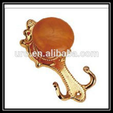 home decor gold metal curtain hooks