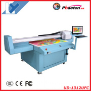 Universal Digital UV Flatbed Printer Ud-1312ufc, 1.3m*1.2m for Decoration, Industry and Signage