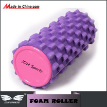 Purple EVA Yoga Sports Pilates Fitness Foam Roller Massage