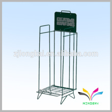 China Factory Directly Supply High Quality Wire Book Shelf Fer forgé