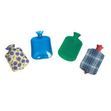 Bolsa de agua caliente de goma médicos