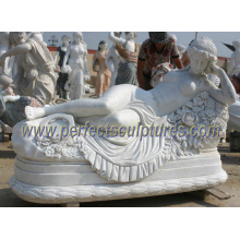 Carving Stone Statue for Garden Marble Sculpture (SY-X1228)