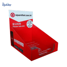 Kundenspezifischer Förderungs-Pappbuch-Ausstellungsstand, Tischplatten-Buch-Ausstellungsstände, Zähler-Pappbuch-Ausstellungsstände