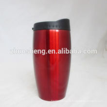 mejor venta personalizado diario necesita taza de doble pared de acero inoxidable