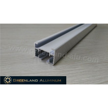 Rails de rideaux électriques en aluminium pour la maison, l'hôpital ou le bureau